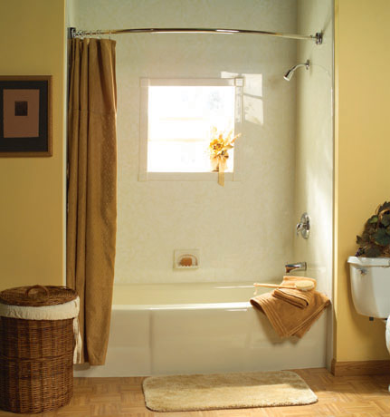 Nashville bath remodeling bath shower wraps bath tub for Tub liner