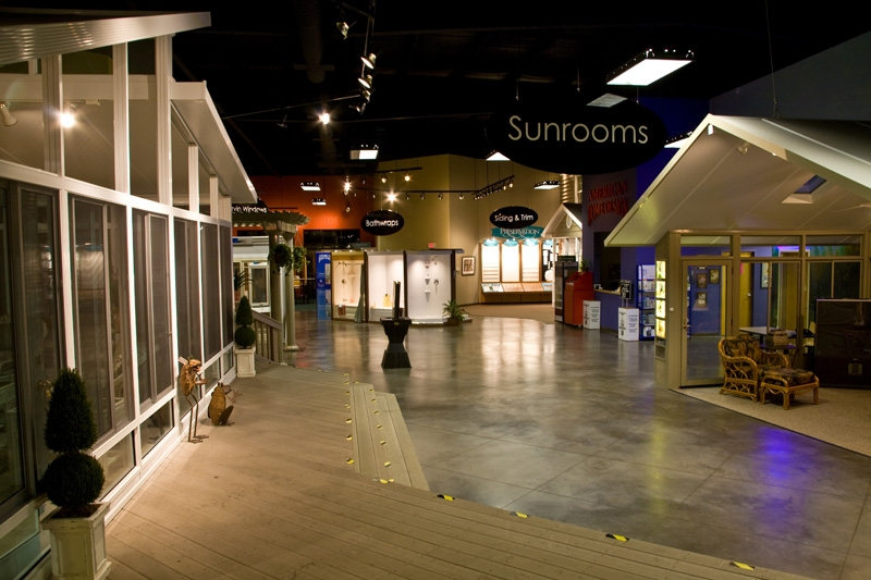 visit our state of the art showroom - Home Improvement Design