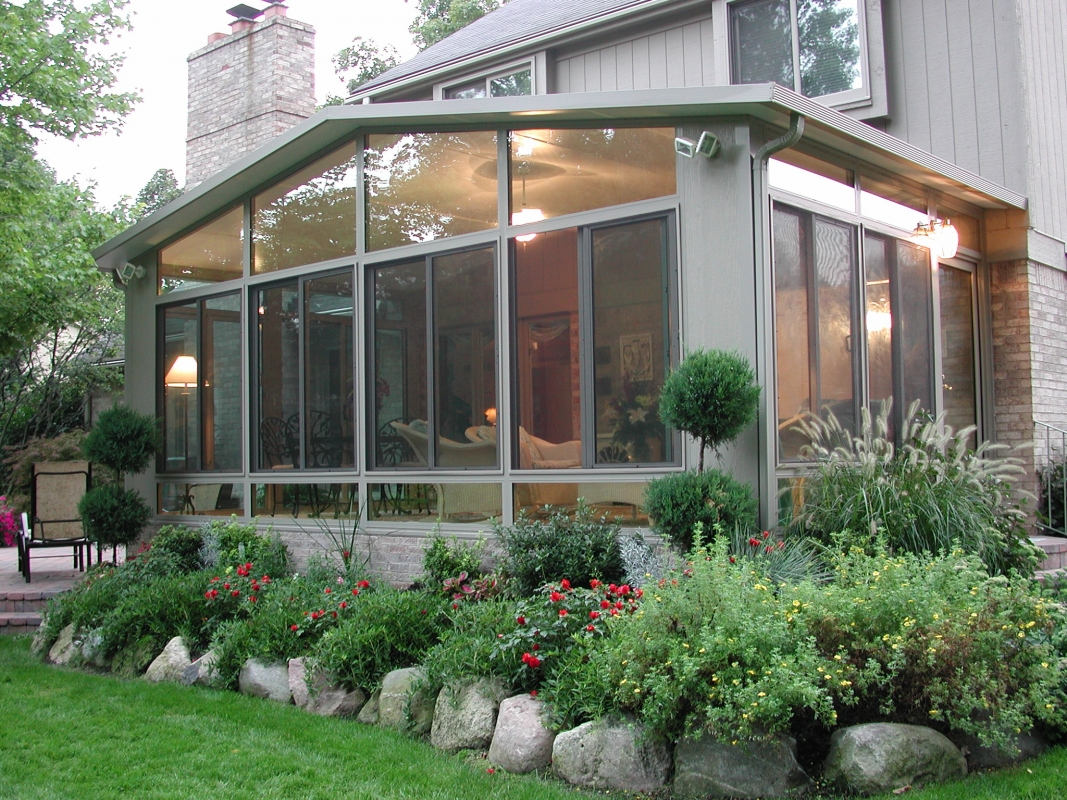 Sunrooms photo gallery for House sunroom