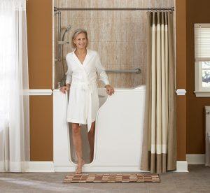pros cons of walk in tubs nashville american home design. Black Bedroom Furniture Sets. Home Design Ideas