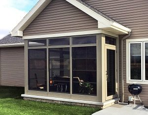 Screened In Porch Cost Clarksville American Home Design