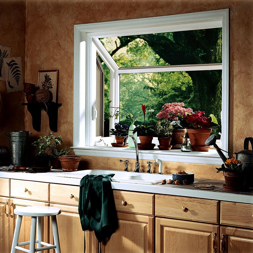 Body Image Garden Window