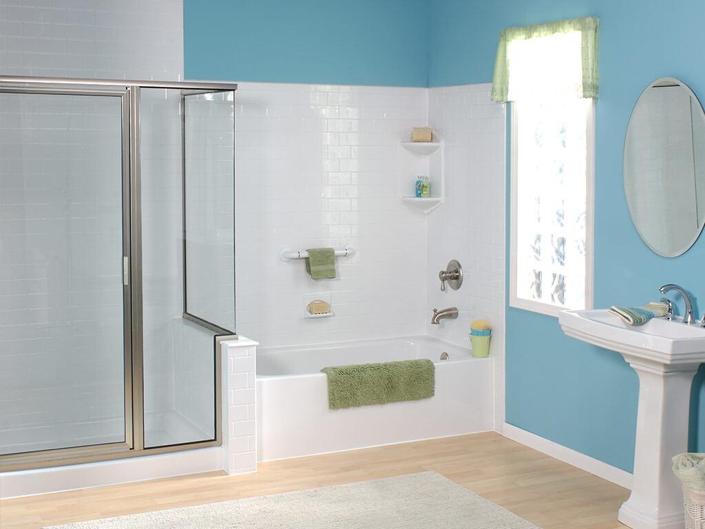 Shower remodeling nashville franklin goodlettsville for Bath remodel nashville tn