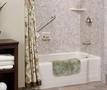 Bathroom Remodeling Nashville Old Hickory Portland Dickson - Bath wraps bathroom remodeling